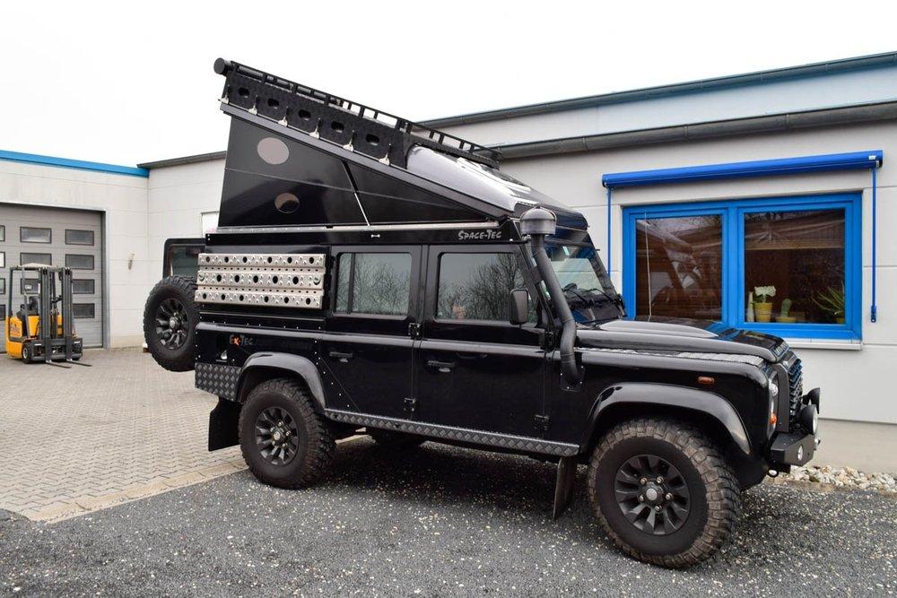 Ex-Tec Defender LXV Hard-Tent schwarz glanz