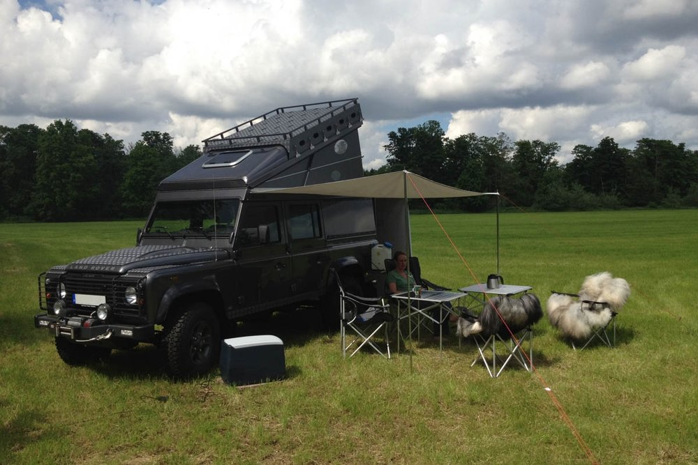 Ex-Tec Defender grau Hard-Tent schwarz