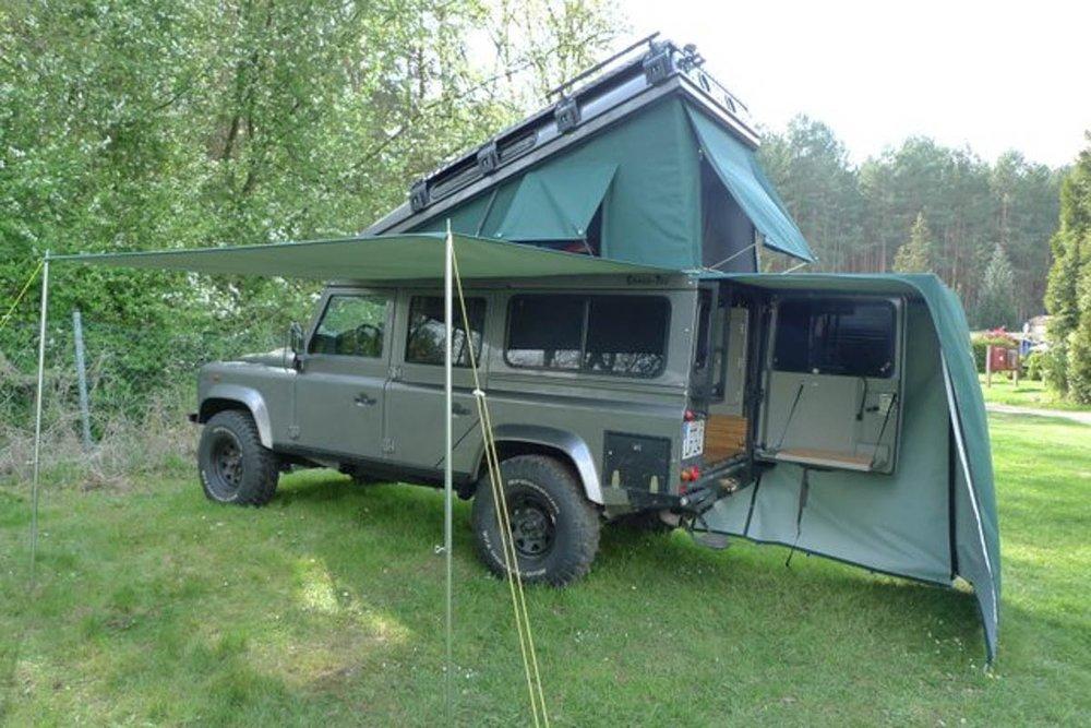 Ex-Tec Defender grün View-Tent Heckzelt grün