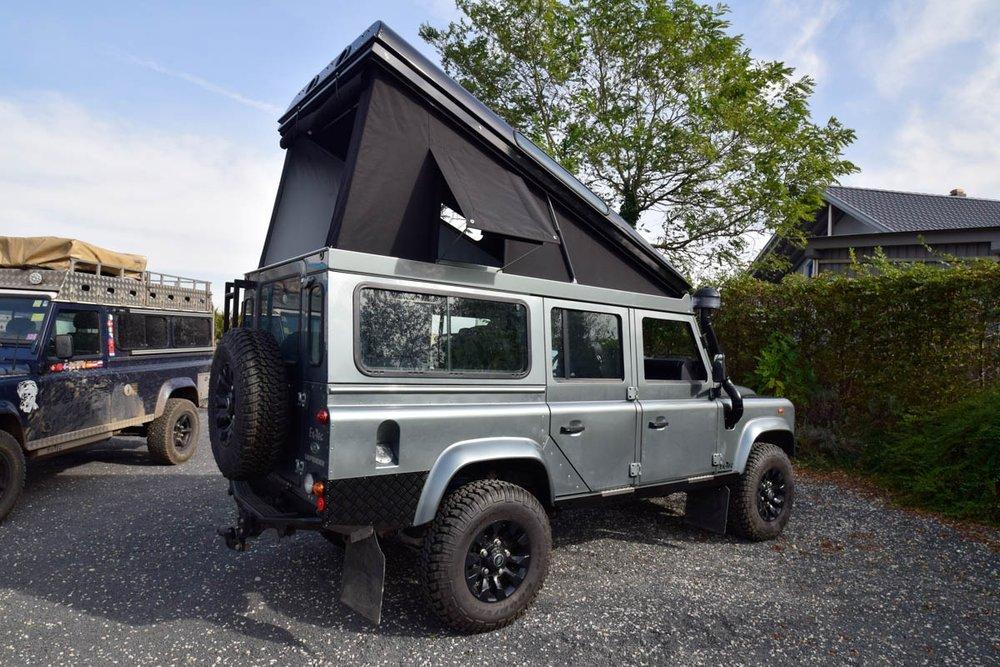 Ex-Tec Defender graugrün View-Tent schwarz