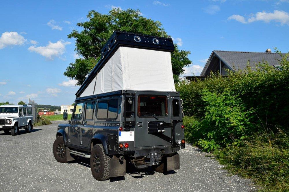 Ex-Tec Defender silbergrau View-Tent sand