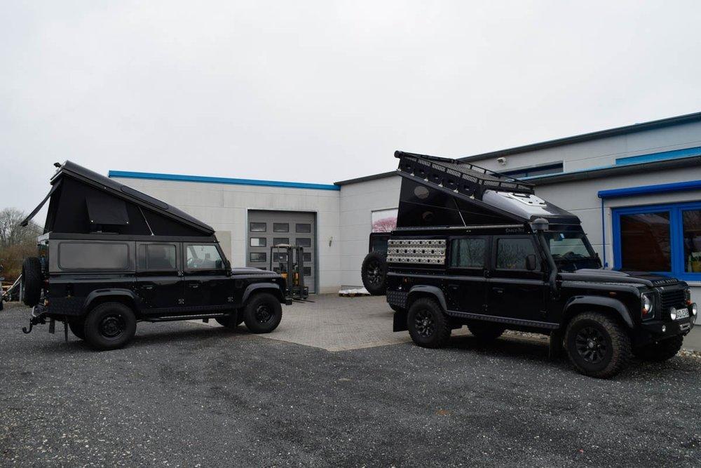 Ex-Tec Defender schwarz View-Tent & Hard-Tent