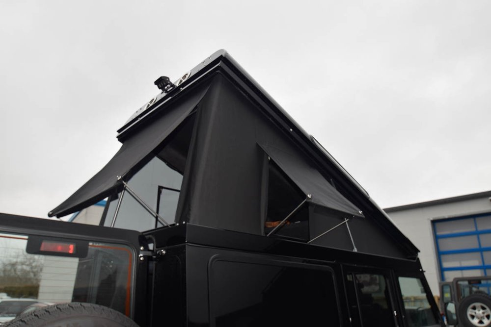 Ex-Tec Defender View-Tent schwarz