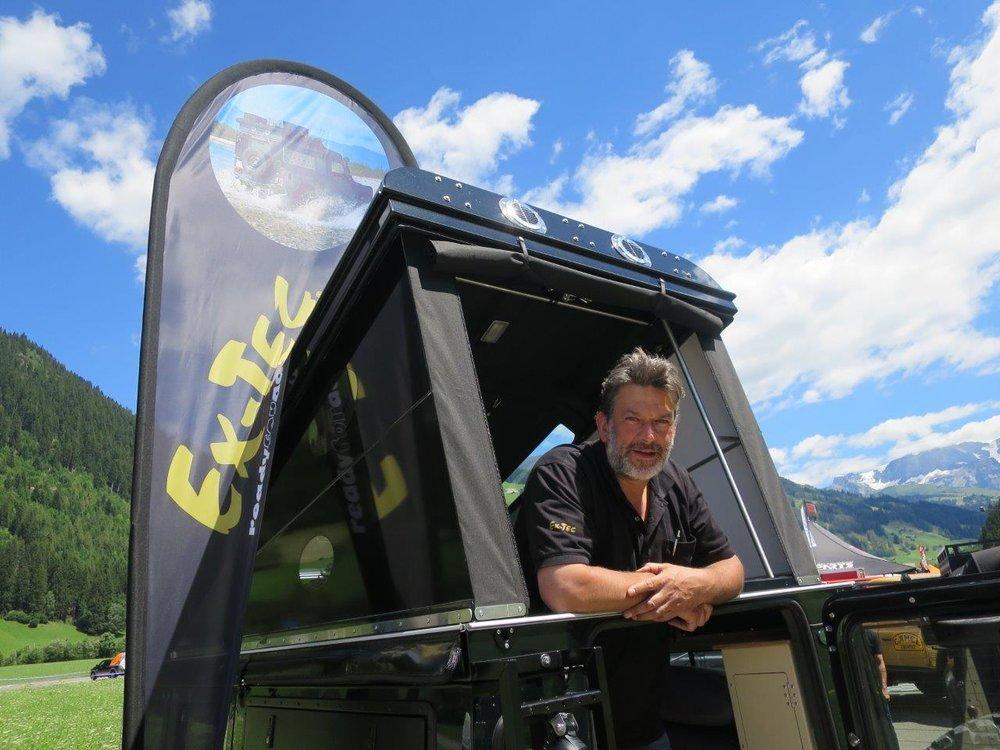 Stephan Titye - Geschäftsführer und Eigentümer von Ex-Tec