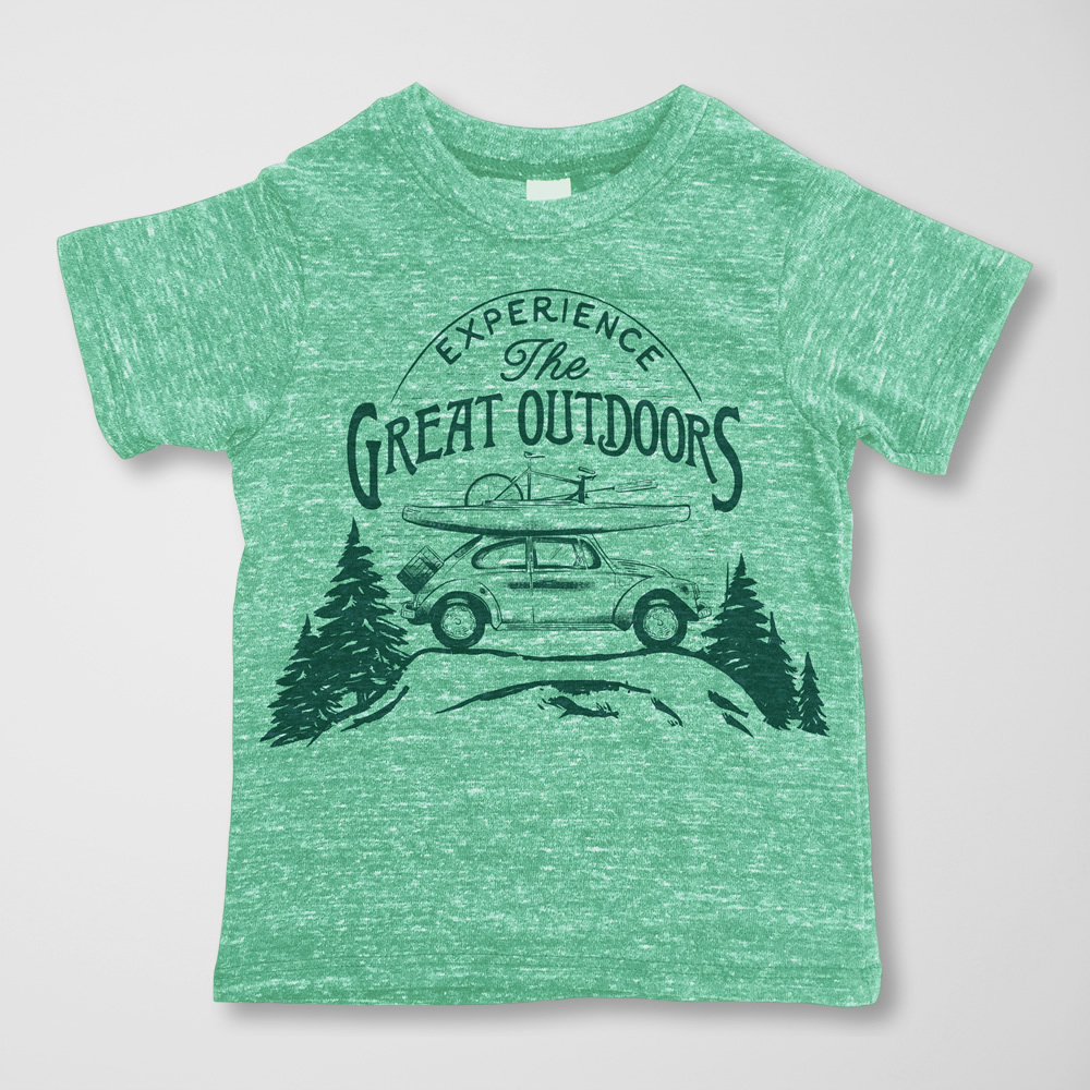 Great Outdoors Tee -  $15.00
