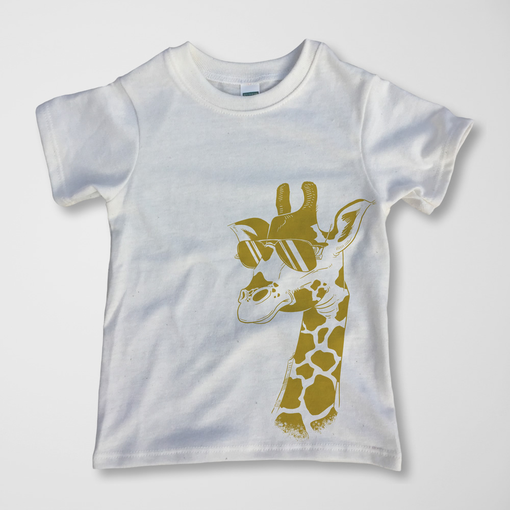 Giraffe Tee -  $15.00
