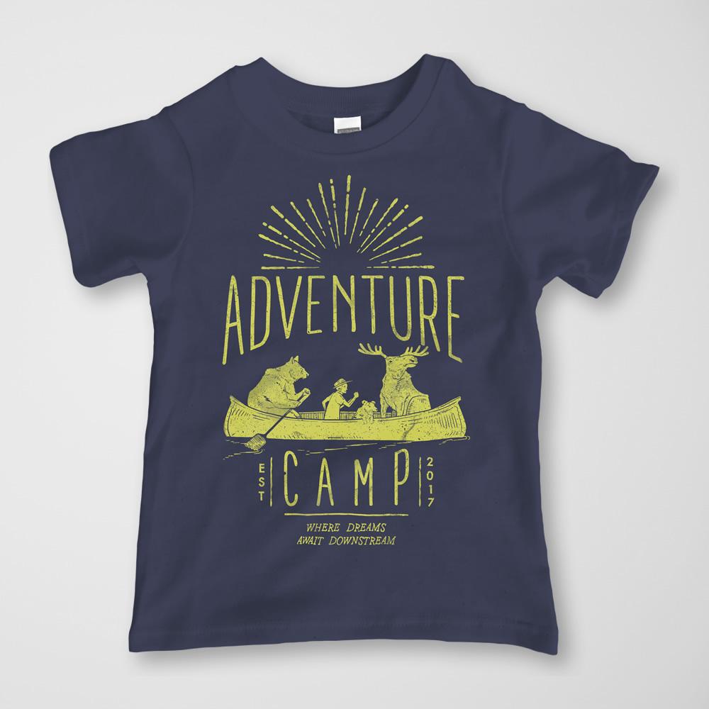 Adventure Camp Tee -  $15.00