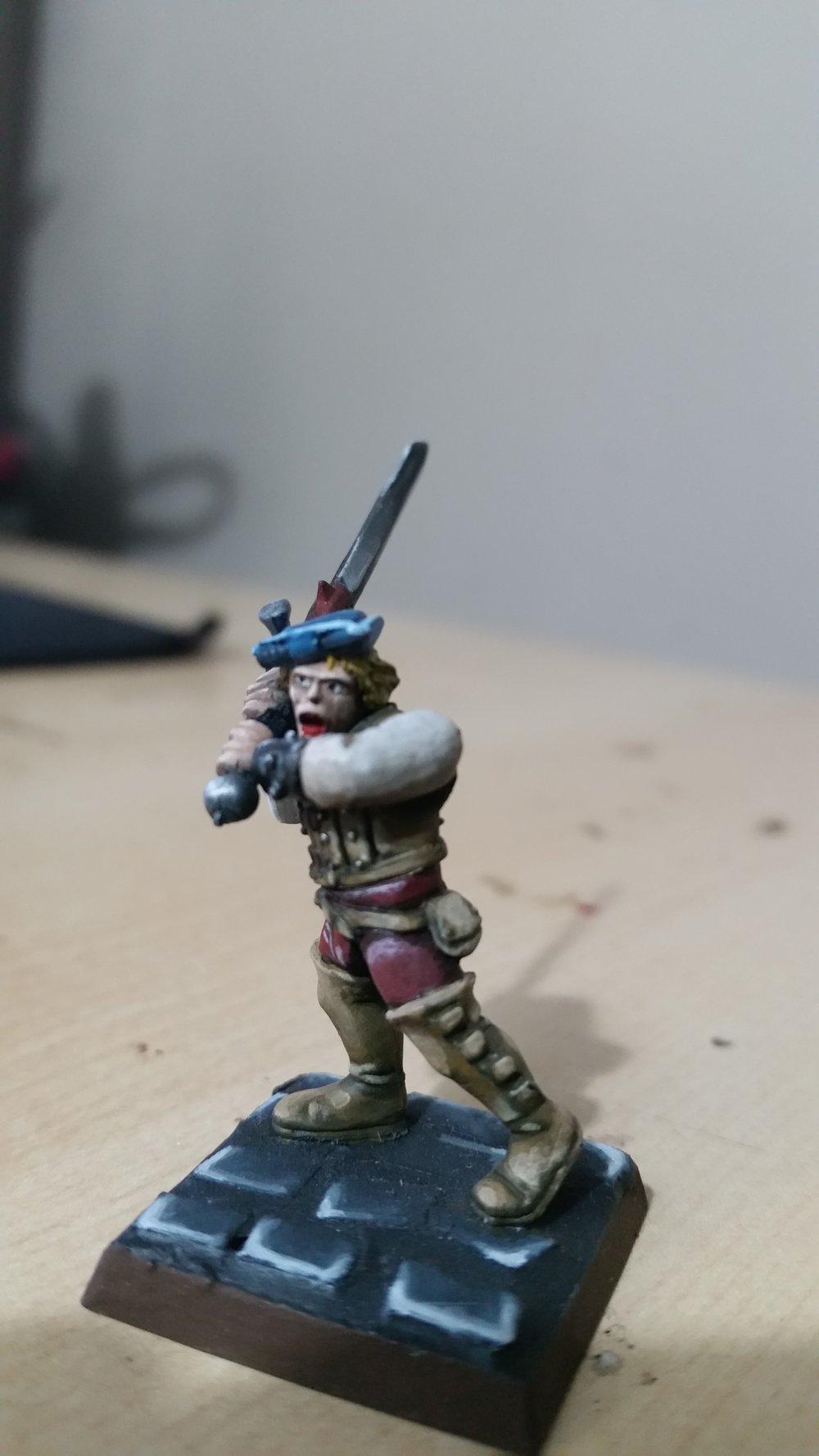 Token Infantry man. His name is Ben. 50pts