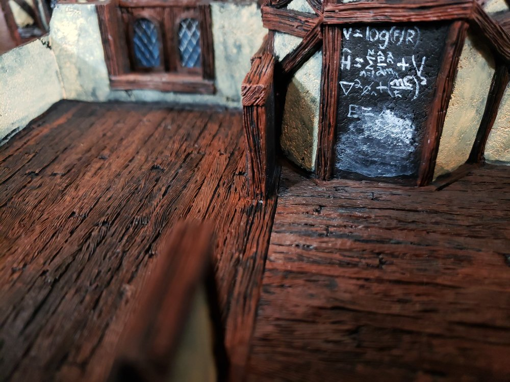Some of the Mansion's interior detail. I'm quite fond of the chalk board installation.