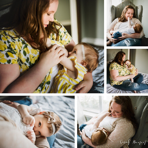 Breastfeeding mini photo session