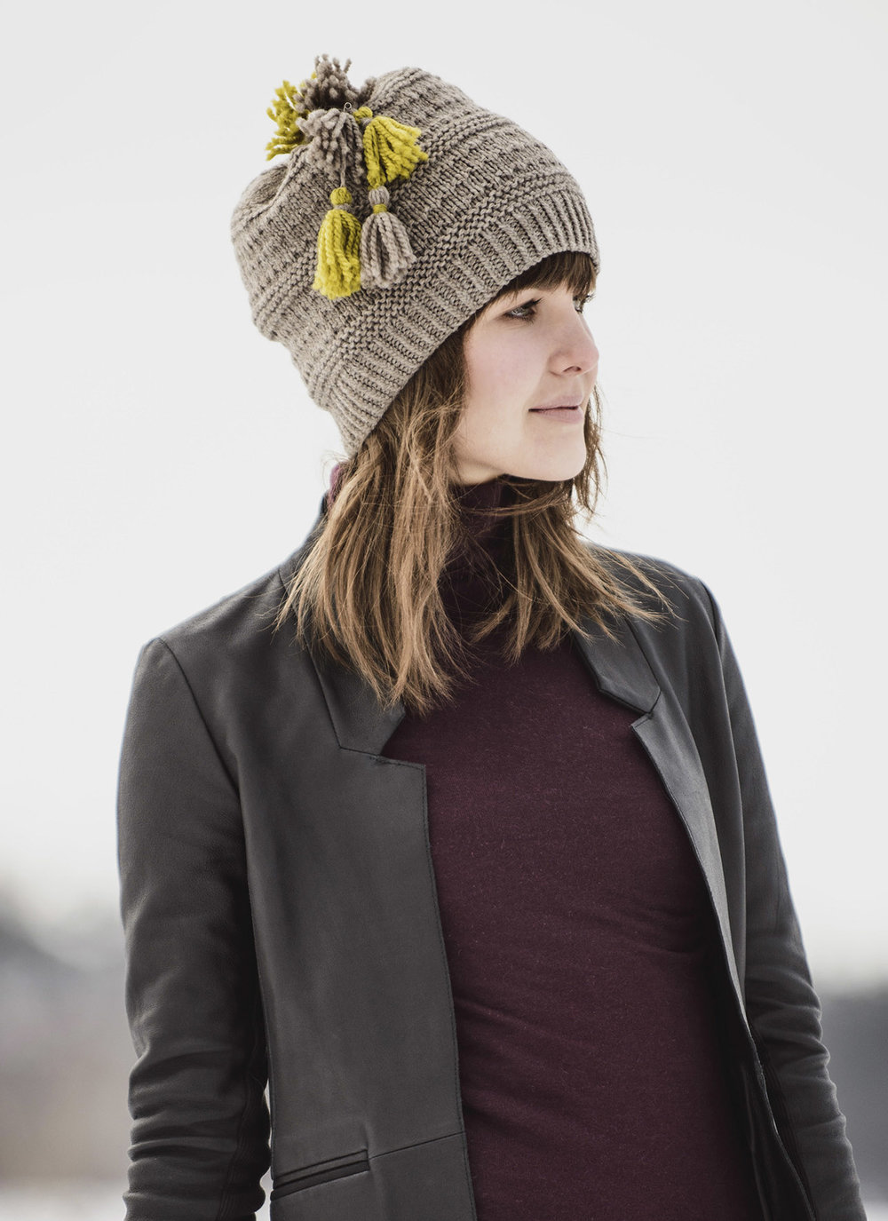 Blue Sky Fibers <strong>Tonka Bay Toque Pattern <br>$9.00</strong>