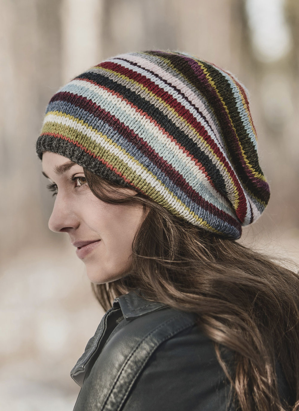Blue Sky Fibers <strong>21 Color Slouch Pattern<br>$3.00</strong>