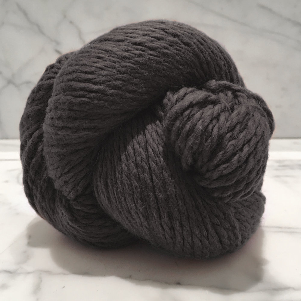 Blue Sky Fibers Organic Cotton<br><strong>Graphite</strong><br>.