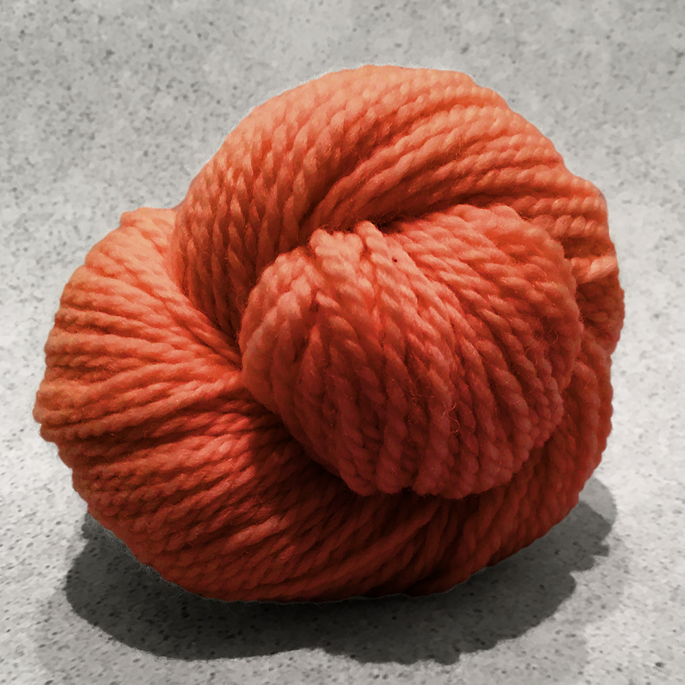 Blue Sky Fibers Woolstok<br><strong>Rusted Root</strong><br>.