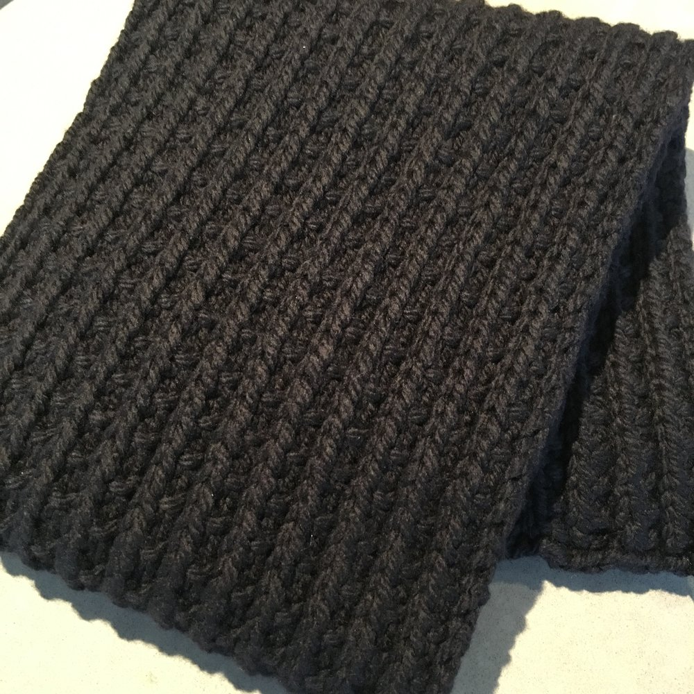 Copy of Deep River Scarf<strong>Free Pattern</strong>