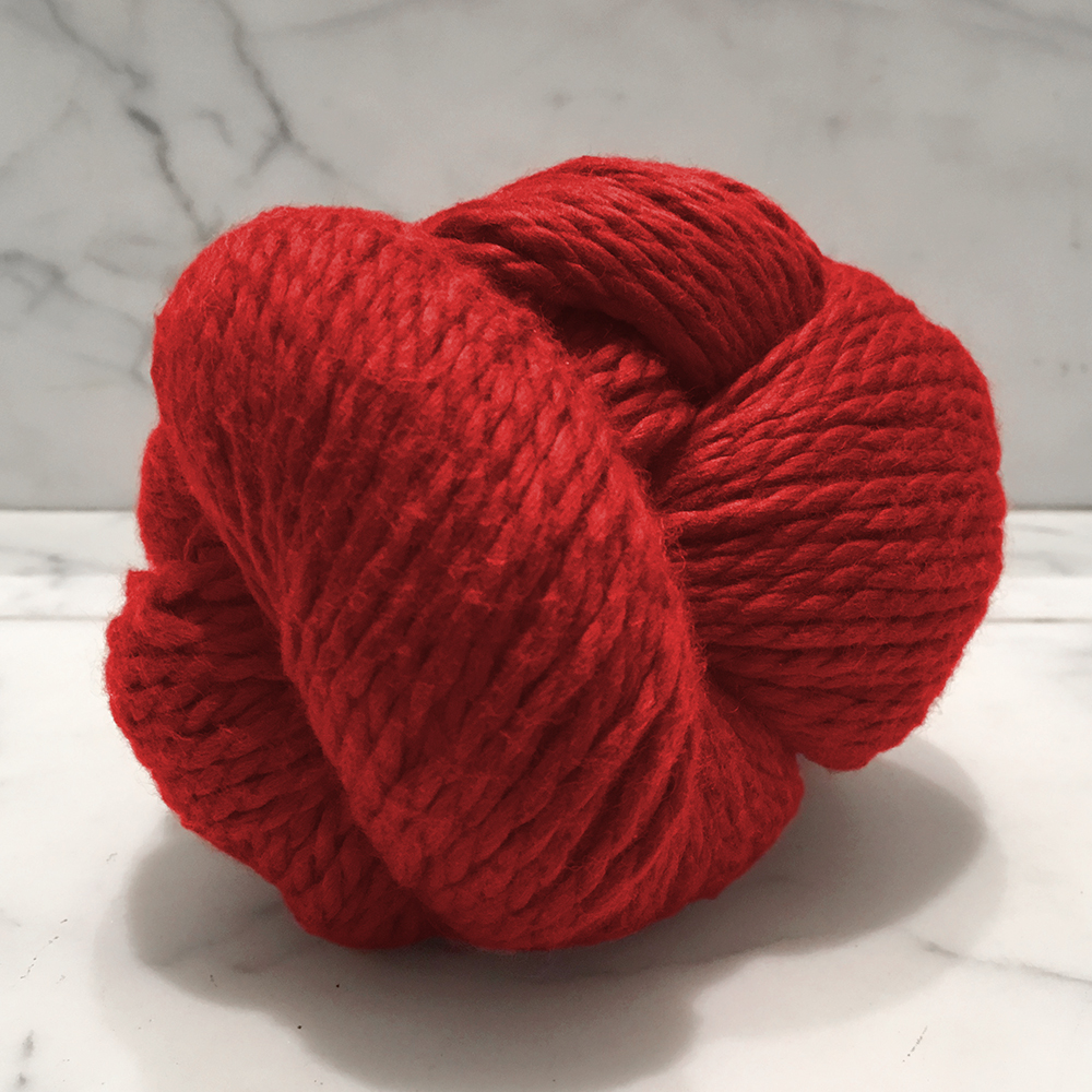 Blue Sky Fibers Organic Cotton<br><strong>True Red</strong><br>.