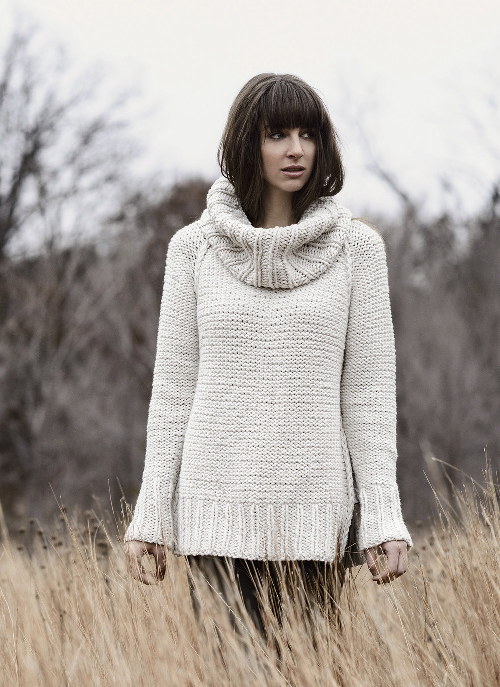 <strong>Pine Island Pullover Pattern</strong>