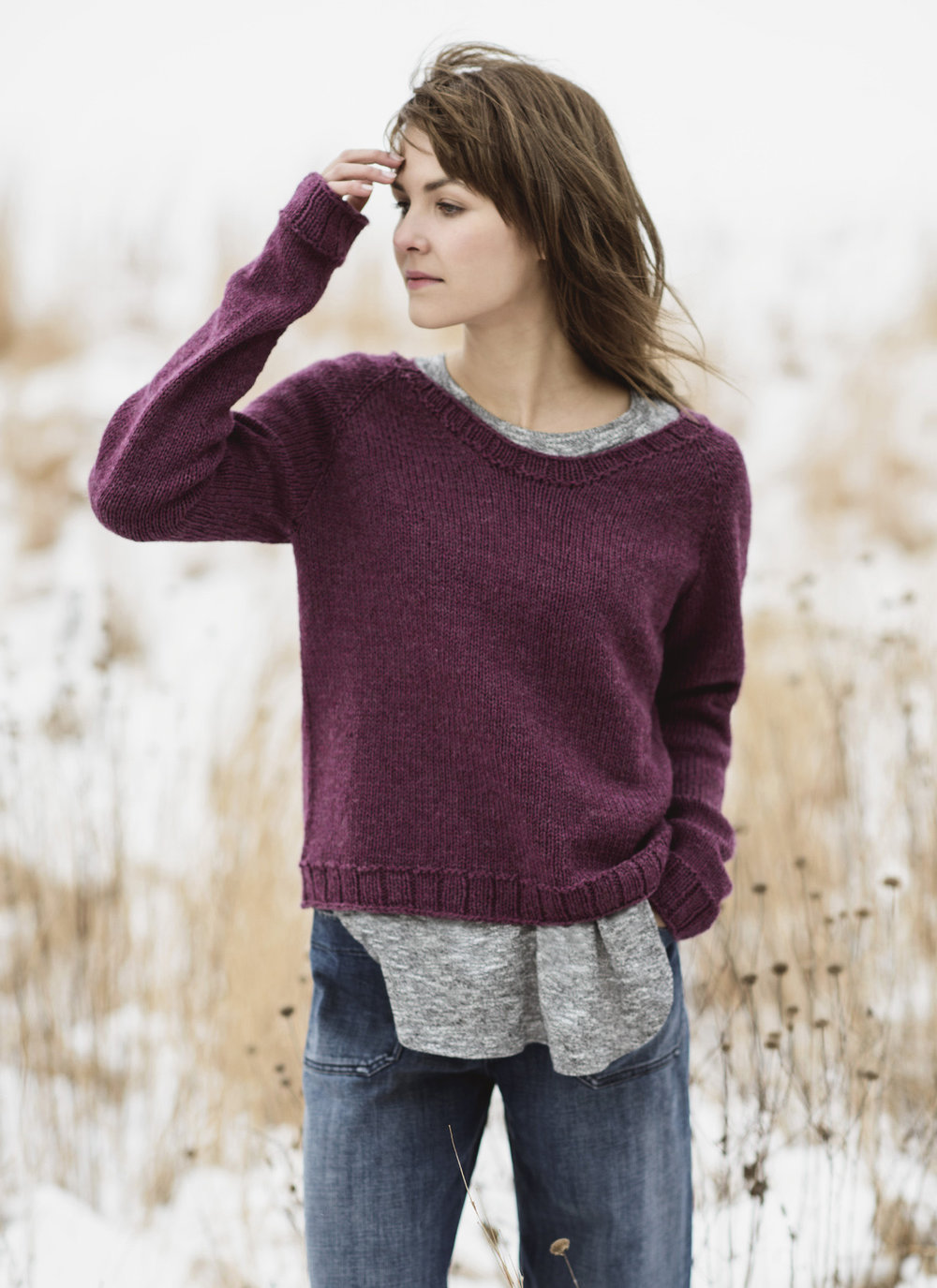 <strong>Cromwell Pullover Pattern</strong>