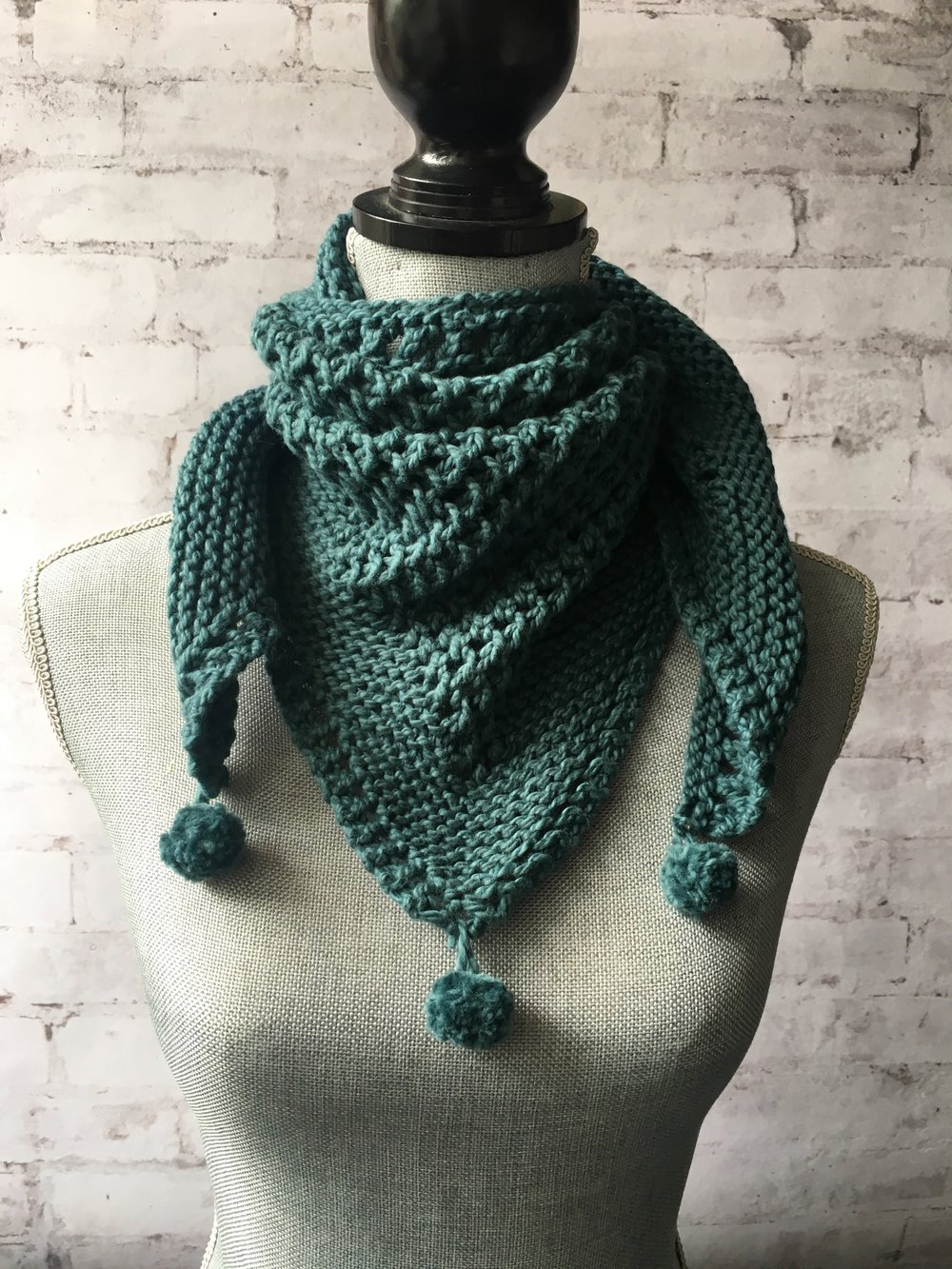 Count 2 Nine Shawlette Kit<br>Available October 23rd!