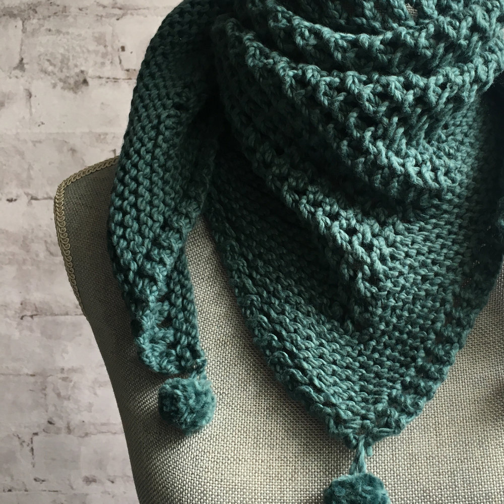 <strong>Count 2 Nine Shawlette</strong><br>$38.00<br>.