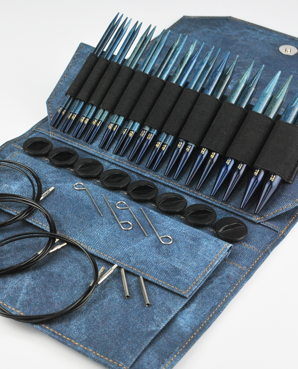 <strong>Driftwood Needle Set</strong><br>Indigo Color<br>NEW!
