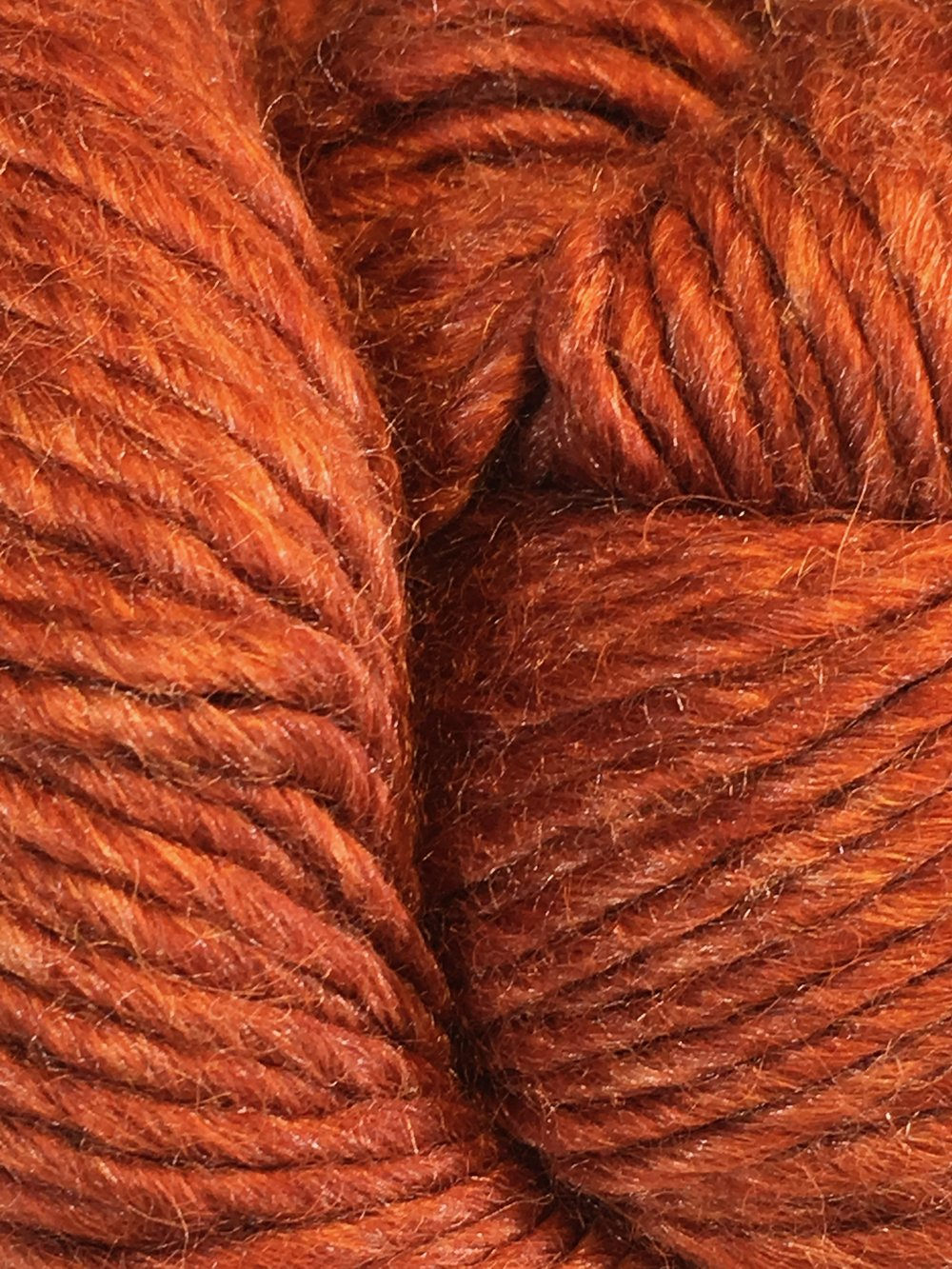 Juniper Moon Farm Moonshine Chunky<br>Baby alpaca, wool and silk<br><strong>Caramel Apple</strong><br>.