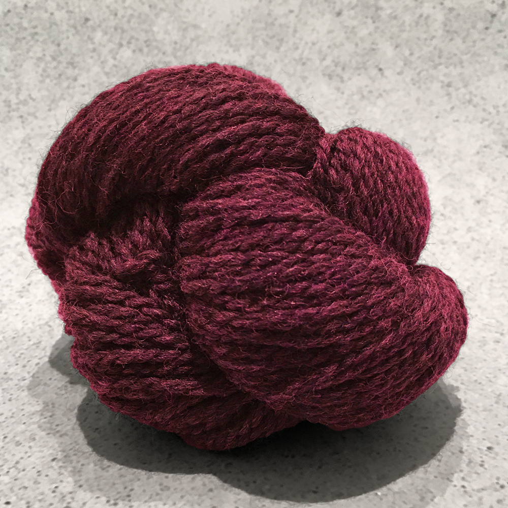 Blue Sky Fibers Woolstok<br><strong>Cranberry Compote</strong><br>.