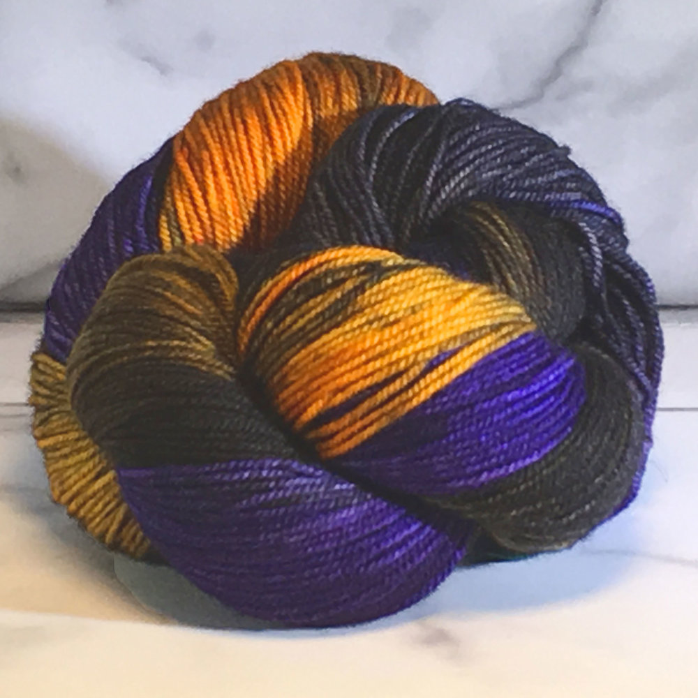 Dragonfly Fibers<br><strong>Djinni Sock<br>Superwash Merino, Nylon and Cashmere<br></strong>9 Colors<br>.