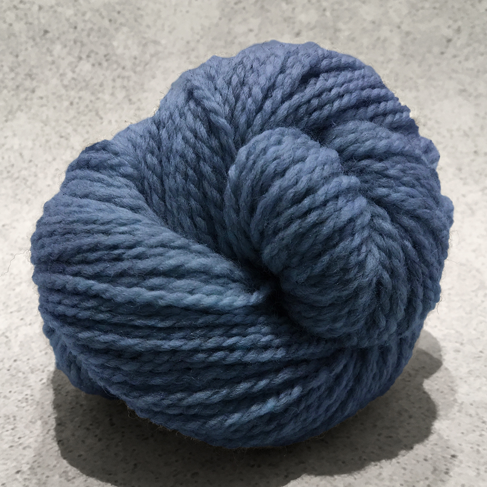 Blue Sky Fibers Woolstok<br><strong>October Sky</strong><br>.
