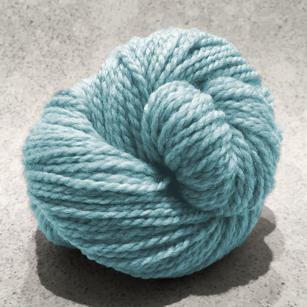 Blue Sky Fibers Woolstok<br><strong>Spring Ice</strong><br>.