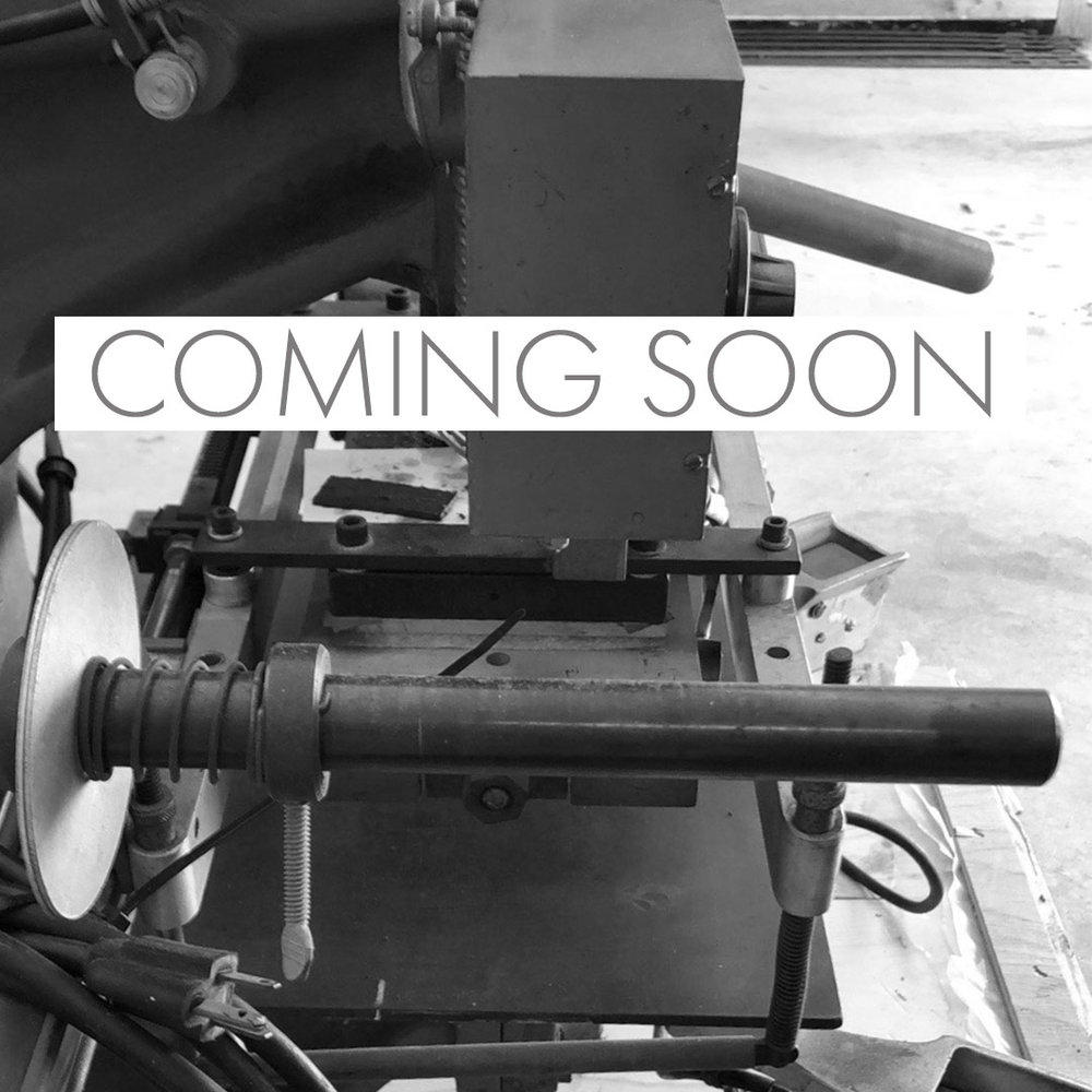 Meet Helouise! She's our Hot Foil Press and information on her services are coming soon.