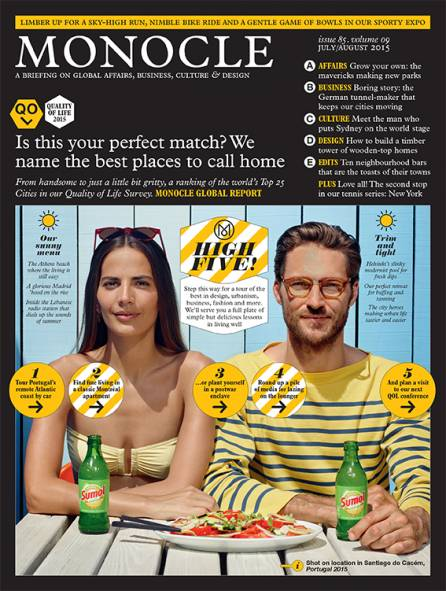 MONOCLE | july/august 2015