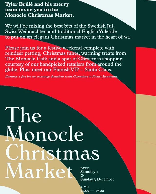 If you're strolling in Marylebone during this weekend, pay us a visit at Lobo Marinho's stall in The Monocle Xmas Market! We have a lot of new surprises 🎅🤶 @monoclemagazine #monocle #monoclemagazine #midorihouse #london #christmasmarket #xmas #santaclaus #reindeer #pocketsquares #gifts #surprises #treats #portwine many thanks to @realcompanhiavelha, @psilvareis & @tugabond 🙏