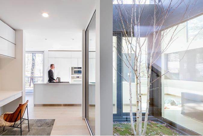 Interior of Award-Winning Modern Home