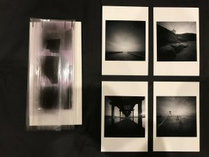 Developed negatives and prints