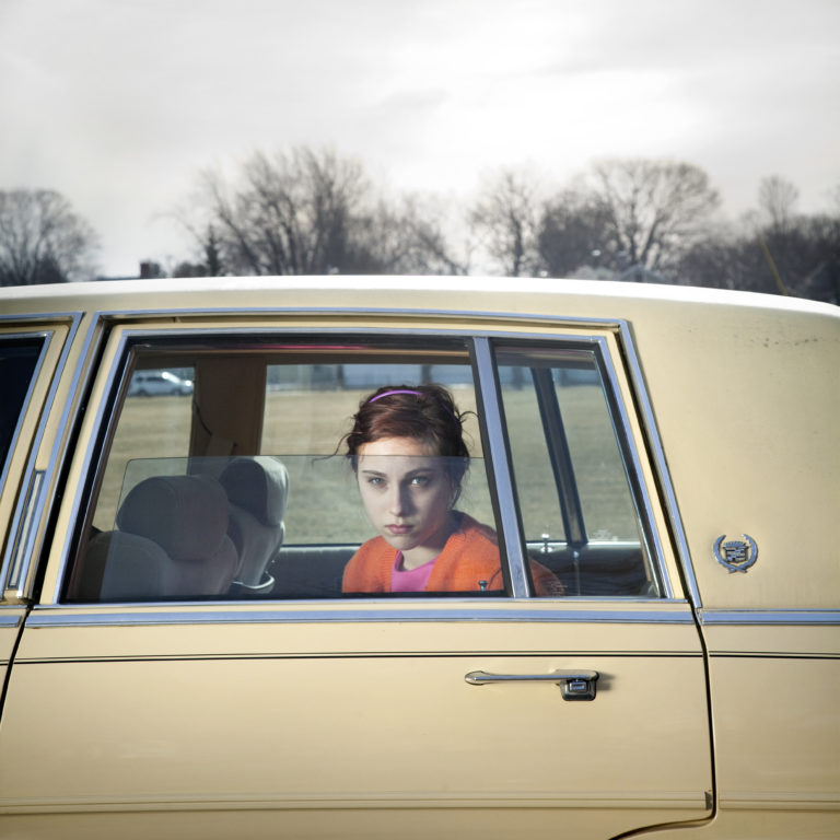 Image 'Pale Yellow Cadillac' by Cig Harvey