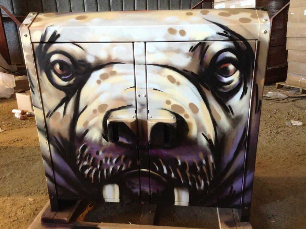 Bear Bins Iqaluit