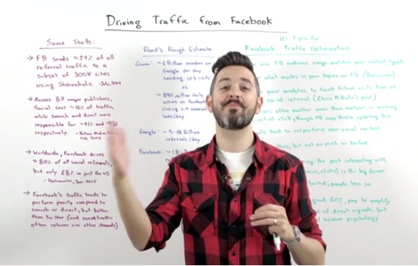 Rand Fishkin's Whiteboard Fridays are both a great example of content marketing, and explain how to do it well!