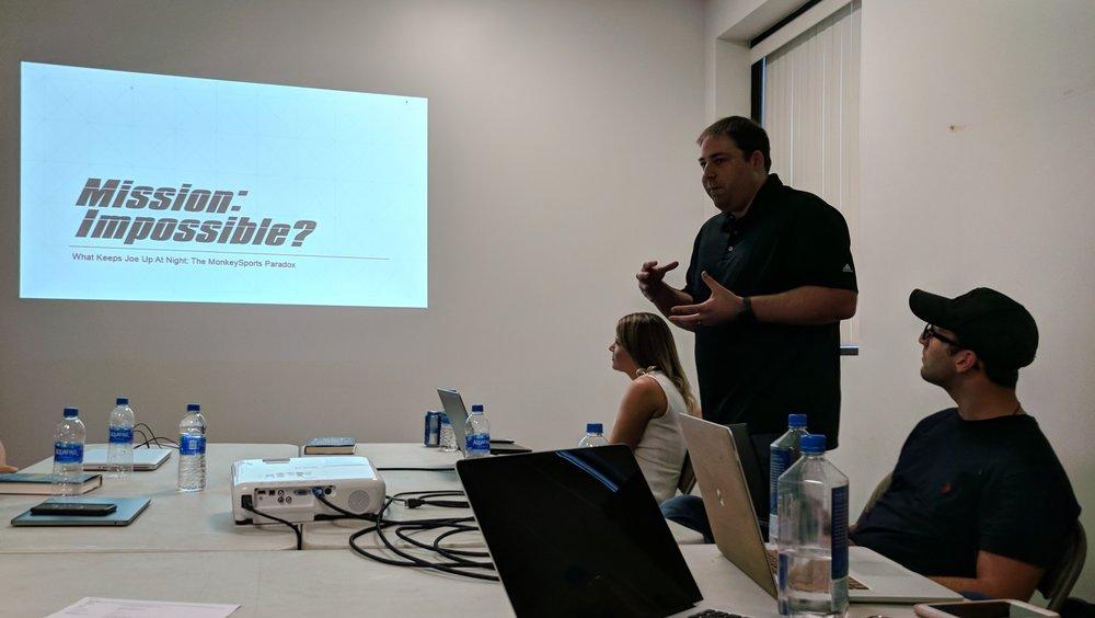 Joe's Presentation