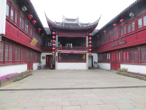 山塘街古戏台