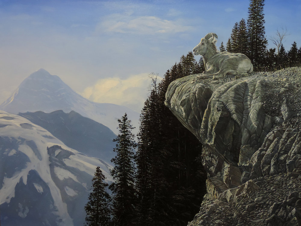 """ Rocky Mountain High""                   30"" x 40""                   Available"