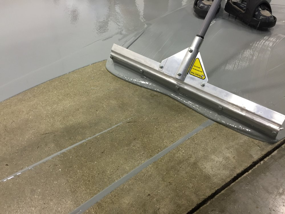 Painters Inc industrial interior epoxy floor coating