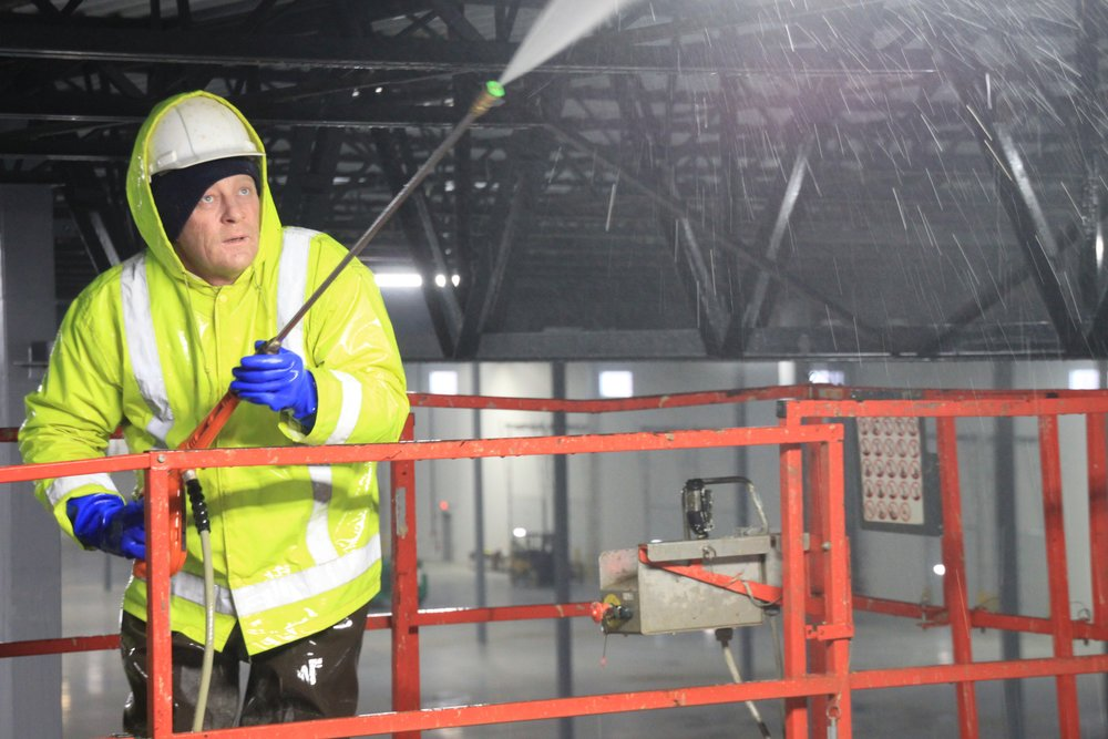 Painters Inc. Chicagoland industrial interior facility power washing
