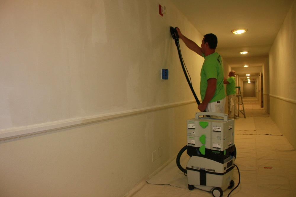 hallway paint job
