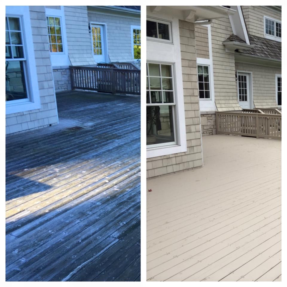 Painters Inc. Chicago best exterior deck painting