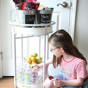 DIY Snack Station, Mom Advice