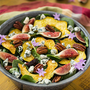 Fig Spinach Salad by Dinner At The Zoo
