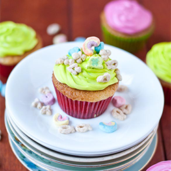 Lucky Charms Cupcakes, Neighbor Food Blog