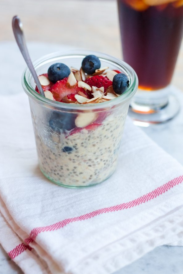 Protein Overnight Oats by Eating Bird Food