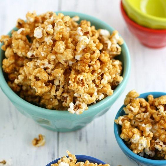 Nut-Free Caramel Corn